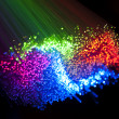 Fiber optical picture with details and light effects - Foto de Stock