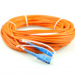 Fiber optical network cable — 图库照片