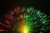 Fiber optics background with lots of light spots — ストック写真