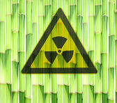 Nuclear meltdown disaster — Stock Photo