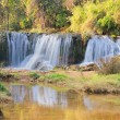 Waterfall in the national park - Stock Photo