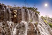 Cachoeira no parque nacional — Foto Stock