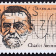 Stock Photo: Postage stamp US1983 Charles Steinmetz