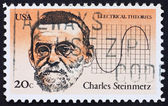 Postage stamp USA 1983 Charles Steinmetz — Stock Photo