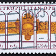Postage stamp USA 1983 Metropolitan opera — Stock Photo