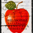 Postage stamp USA 1982 Sir Isaac Newton - Stock Photo