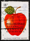Postage stamp USA 1982 Sir Isaac Newton — Stock Photo