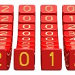 Happy New Year 2012 — Stock Photo #7091415