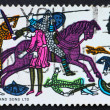 Royalty-Free Stock Photo: Postage stamp USA 1966 Battle of Hastings