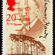 Stock Photo: Postage stamp US1990 Thomas Hardy