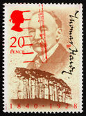 Postage stamp USA 1990 Thomas Hardy — Stock Photo