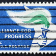 Royalty-Free Stock Photo: Postage stamp USA 1963 Alliance for Progress