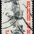 Postage stamp USA 1963 Letter Carrier — Stock Photo