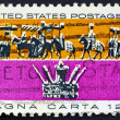 Stock Photo: Postage stamp US1965 MagnCarta