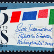 Postage stamp USA 1966 Stamped Cover — Stock Photo