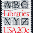 Postage stamp USA 1982 American Libraries — Stock Photo