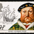 ������, ������: Postage stamp GB 1982 King Henry VIII