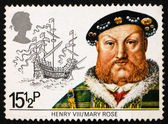 Postage stamp GB 1982 King Henry VIII — Stock fotografie
