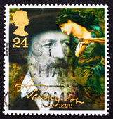 Postage stamp GB 1992 Alfred Lord Tennyson, Poet Laureate — Stock Photo