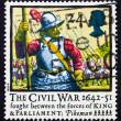 Postage stamp GB 1992 Pikeman — Stock Photo