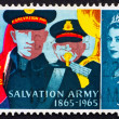 Stock Photo: Postage stamp GB 1965 Salvation Army Band
