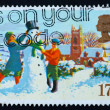 Postage stamp GB 1990 Children — Stock Photo