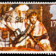 ������, ������: Postage stamp GB 1988 King Arthur and Merlin