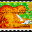 Postage stamp GB 1994 Orlando, the Marmalade Cat - Stock Photo