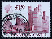 Postage stamp GB 1988 Caernarfon Castle — Stock Photo