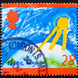 Stock Photo: Postage stamp GB 1992 Ozone Layer
