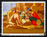 Postage stamp GB 1967 Adoration of the Shepherds — Stock Photo