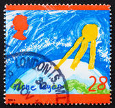 Postage stamp GB 1992 Ozone Layer — 图库照片