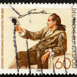 Postage stamp Germany 1982 Johann Wolfgang von Goethe — Stock Photo