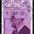 Royalty-Free Stock Photo: Postage stamp Germany 1968 Pierre de Coubertin