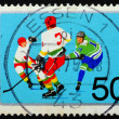 Royalty-Free Stock Photo: Postage stamp Germany 1975 Ice Hockey