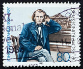 Postage stamp Germany 1983 Johannes Brahms — Stock Photo