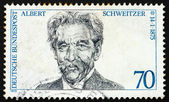 Postage stamp Germany 1975 Dr. Albert Schweitzer — Stock Photo