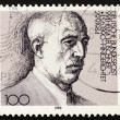 Postage stamp Germany 1976 Wilhelm Leuschner - Stock Photo