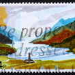 Stock Photo: Postage stamp GB 1981 GlenfinnHighlands, Scotland