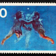 Postage stamp Germany 1977 Morning - ストック写真