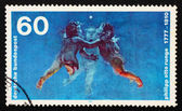 Postage stamp Germany 1977 Morning — Stock Photo