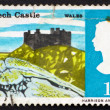 Postage stamp GB 1966 Harlech Castle — Stock Photo