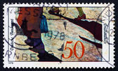 Postage stamp Germany 1978 Refugees — Stock Photo