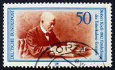 Postage stamp Germany 1982 Robert Koch — Stock Photo