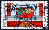 Postage stamp Germany 1983 Brewers, Engraving — Stock Photo