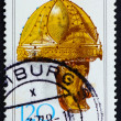 Stock Photo: Postage stamp Germany 1977 Gilt Helmet