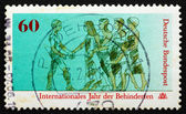Postage stamp Germany 1981 Disabled — Stock Photo