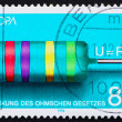 Postage stamp Germany 1994 Georg Simon Ohm — Stock Photo