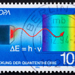 Postage stamp Germany 1994 Max Planck — Stock Photo
