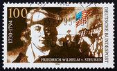 Postage stamp Germany 1994 Baron Friedrich von Steuben — Stock Photo